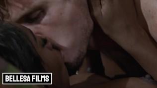 Bellesa - Amari Anne & Robby Echo Turn A Movie Night Into A Romantic Sexual Experience