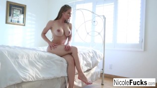 Nicole explores her pussy to a climax!