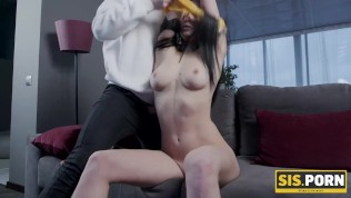 SIS.PORN. Lovelace thinks if stepsister is old enough to smoke than she can have sex too