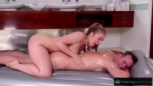 Naughty Masseuse Loves A Thick Cock