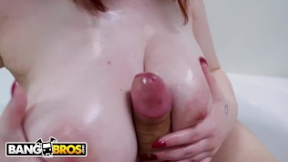 BANGBROS - Amazing Busty Ginger Showdown: Jessica Rabbit Versus Annabel Redd!