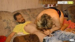 AMATEUREURO - Big Booty German Mature Hard Sex With Her Horny Lover