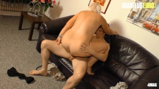 AMATEUREURO - Fat Ass German Mature Gets Her Pussy Filled With Cock