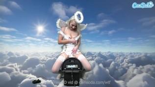 Angel body hottie Ava Sinclaire Masturbates till she orgasms