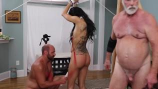 Gia Vendetti (DSC8_5) Restraints Paddle Flog Spank Oral Vibrator Cum